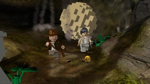 lego indiana jones  attention a la boule