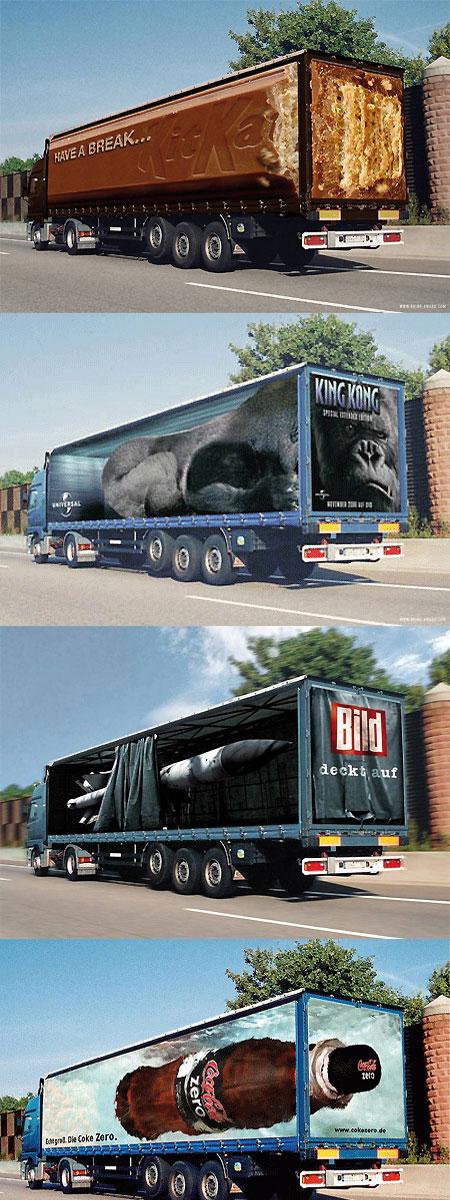 pub camion photoshop